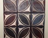 Tessellated tile wall hanging