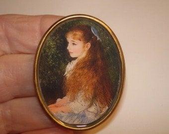 Child Art  Brooch