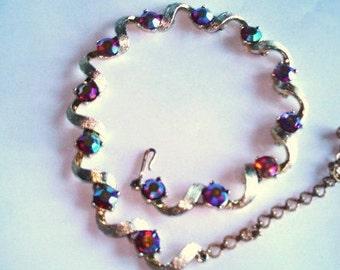 Kramer  AB Rhinestones Necklace