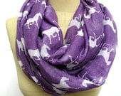Horse scarf  Horse Infinity Scarf Animal Printed shawl Circle scarf, Scarves, Mother's Day Gift Ideas For Her Women