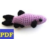 PDF Crochet Amigurumi Animal Patterns: Danio Fish Amigurumi PATTERN