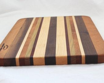 "Handmade Rectangle Cutting Board 10"" x 14"""