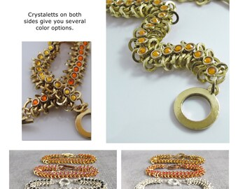 Tutorial Vertebrae Crystal With Bonus Micro Spike Instructions