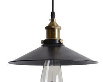 Industrial Light Pendant Hanging Island Ceiling Fixture Edison Vintage Style Antique Globe Bulbs Rustic Lighting