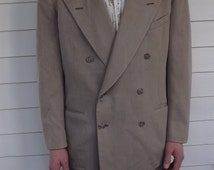 40s Mens Suit Hart Schaffner Marx Double Breasted Vintage 41