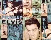 Rare Elvis Cotton Fabric Price PER YARD