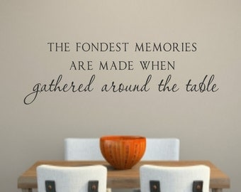 Kitchen Vinyl Wall Decal Acts Vinyl Lettering Decor - Dining room vinyl wall quotes
