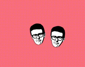 Ira Glass earrings