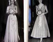 Weddings Bridal Show Models and Attendants, Vintage Photos