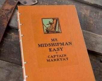 1928 MIDSHIPMAN Vintage Notebook Journal