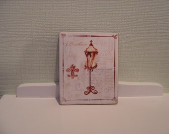 Miniature Dollhouse Sign Sewing Room One Inch Scale 1:12