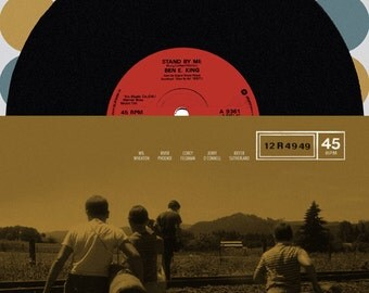Stand By Me alternative movie poster