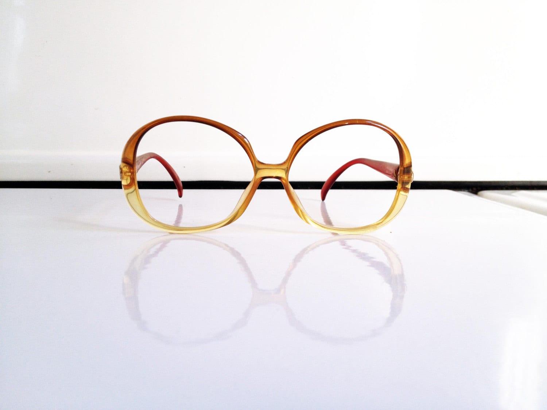 Glasses Frames Christian Dior : Vintage Christian Dior Oversized Glasses Frames