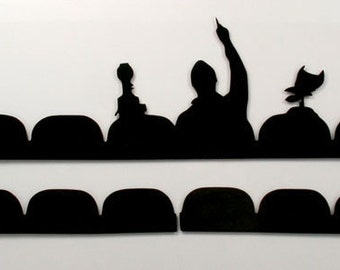 Mystery Science Theater 3000 Window Cling