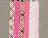 Pink binky blip Pink pacifer clip pink binky holder baby girl pacifier holder binky clip