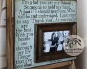 Godparent Gift, Baptism Gift For Godparents, Godparents Frame, Godmother Gift, Godfather Gift, Will You Be My Godparents, 12x12