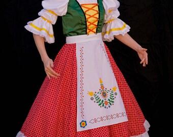 Custom Truly Scrumptious Bavarian German Chitty Chitty Bang Bang Adult Costume