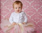 Vintage Tutu- Tutu Skirt- Baby Tutu- Infant Tutu- Newborn Tutu- Tutus Baby Shower Gift- Available In Size  0-24 Months