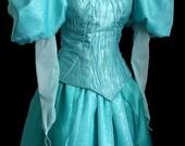 New Parks Little Mermaid Ariel Aqua Costume