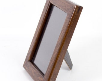 Picture Fame - 5 x 7 Easel Back in Quarter Sawn White Oak
