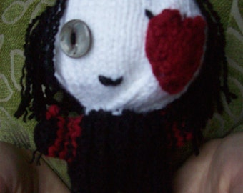 The Knave of Hearts: Stayne Doll Knave of hearts Doll Tim Burton Alice in Wonderland Red Queen Alice in wonderland doll