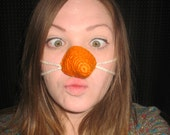 Carrot Nose Cozy Snowman Nose