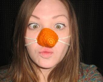 Carrot Nose Cozy Snowman Nose
