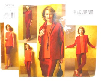 Vogue Pattern V2826, Plus Size Pattern 20 - 24, Tailoring Supplies, Un Cut, Womens Fashion