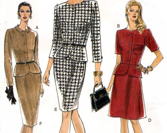 Vogue 9301 Misses' Top and Skirt Sewing Pattern - Uncut - Size 12, 14, 16