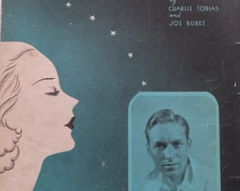 1933 Good Night Little Girl Of My Dreams Charlie Tobias Joe Burke Lanny Ross Song Book Sheet Music
