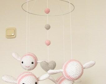 nursery decor girl pink baby mobile bumble bee nursery mobile bee mobile crib mobile baby nursery cool bee