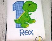 Dinosaur Birthday Shirt - 1st Birthday, 2nd Birthday, 3rd Birthday,  Dino Birthday, Dinosaur Party, Dinosaur Shirt, Boys First Birthday