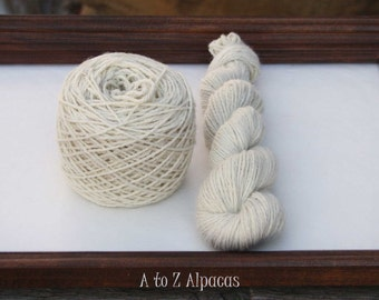 Royal Baby Alpaca Yarn Worsted Weight 50 grams Creamy White