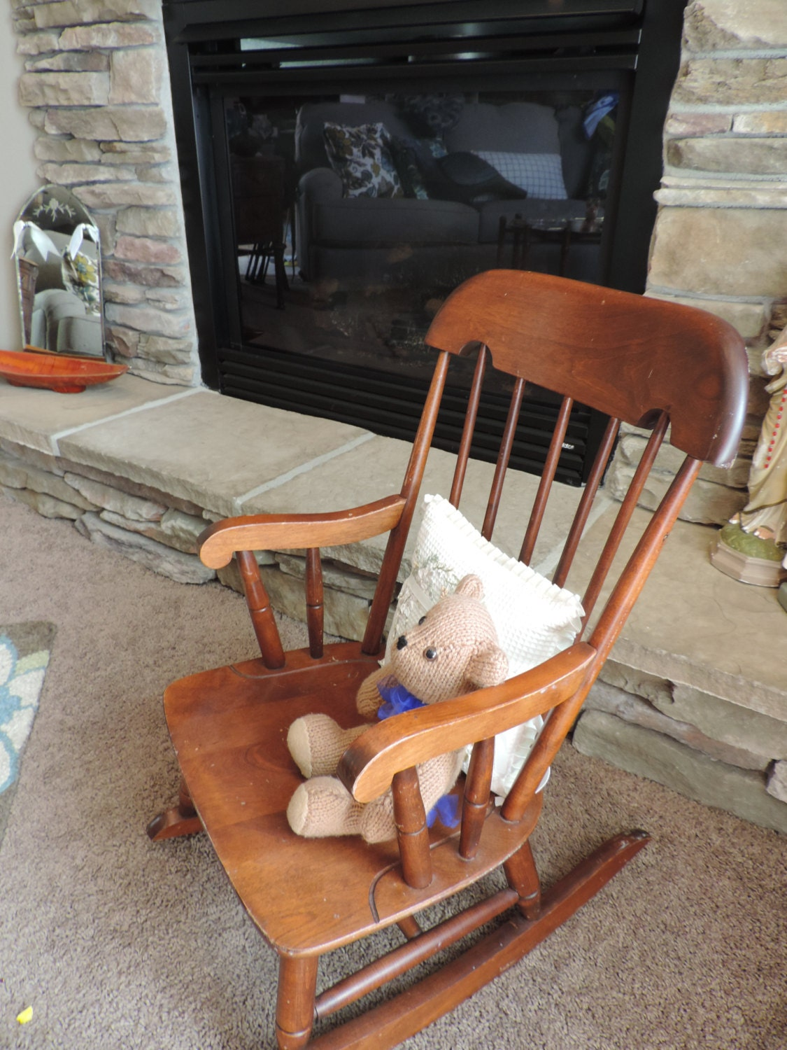 Child Rocking Chair Nichols And Stone Gardner By Bluejeanjulie