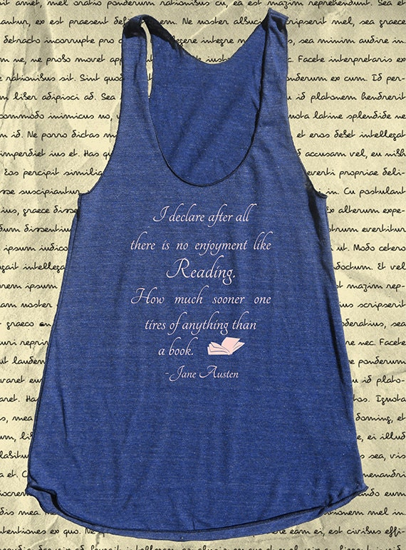 Workout Tank Pride And Prejudice Reading By