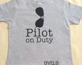 Pilot on Duty T-shirt