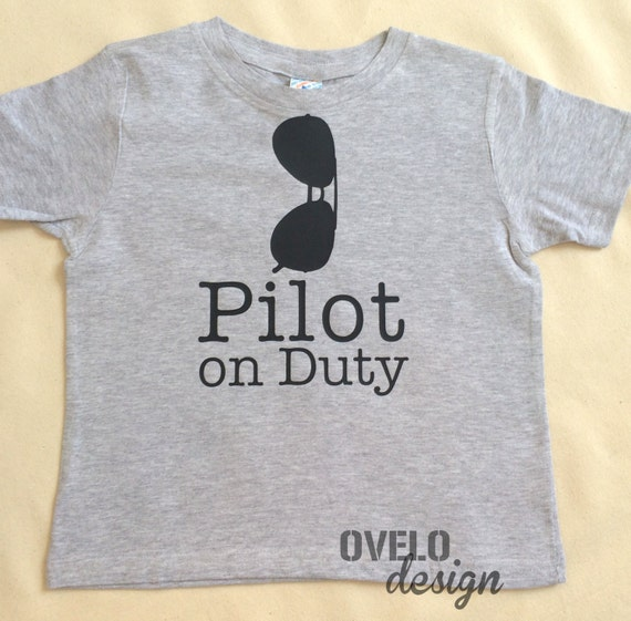 Pilot on Duty T-shirt