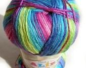 Alize Bamboo Fine Yarn, hypoallergenic yarn batik design fingering, sock, c.4558, l.911630