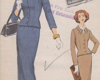 Bust 34-1957 Misses' Suit Vogue Special Design 4812 Size 14