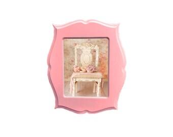 10x13 Picture Frame, Whimsical Frame, Wooden Picture Frame, Ornate Frame, 10x13 frame