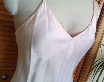 Vintage Light Pink Full Slip / Barbizon
