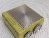 Portable 8 Transistor Radio.  by  LLOYD's.  Vintage 1960.  Works!  Mid century Groovy.  Made in Taiwan.