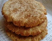Maple Crackletop Cookies  made with real VT Maple Syrup