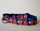 Dog Collar -Lady and the Tramp -  50% Profits to Dog Rescue