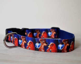 Dog Collar -Love Dogs -  50% Profits to Dog Rescue