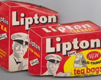 Vintage Lipton Tea Sewing Kit with Needles West Germany