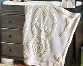 Crochet Pattern ~ Sleepy Owl Blanket ~ Crochet Pattern