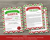 Official Elf Report - Naughty or Nice Behavior Letter From Santa (Digital File) Bonus Elf Goodbye Letter Included - INSTANT DOWNLOAD