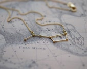 Necklace Ursa Major 18k gold plate
