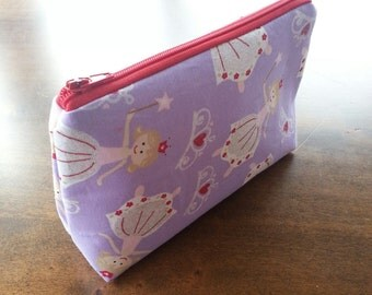 Zipper Pouch - Princess Ballerina